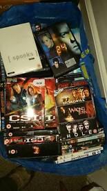 Over 200 hi end DVDs