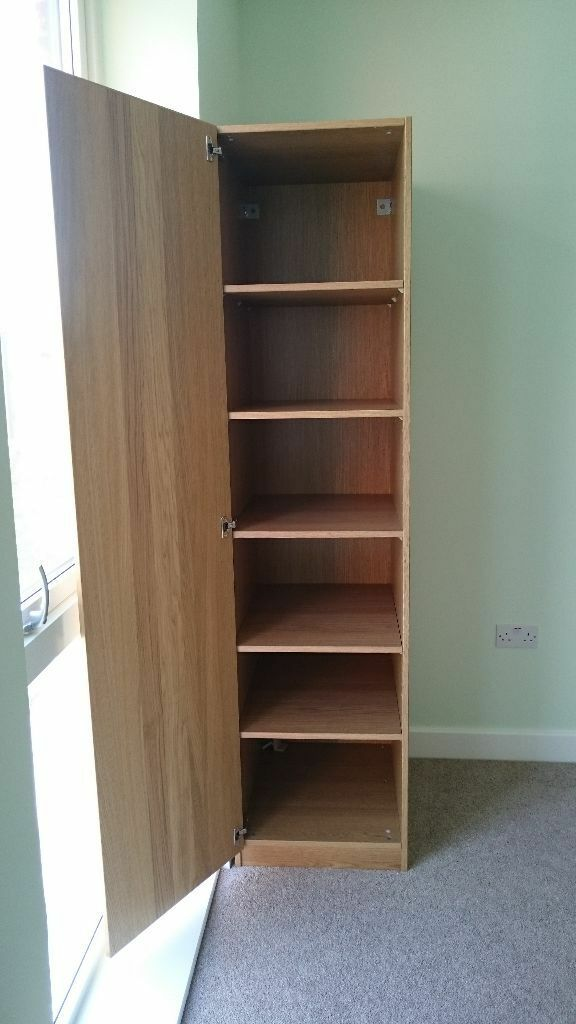 Ikea Pax Single Wardrobe With Shelves In North West