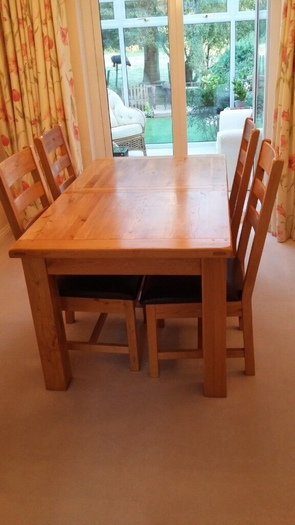 Superb Normandy Extendable Dining Table And Chairs In Very Good Condition In Eastleigh Hampshire Gumtree Squirreltailoven Fun Painted Chair Ideas Images Squirreltailovenorg