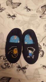 Boys finn and jake slippers