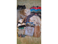 Bundle of boys clothes around 3-4 years