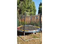 Used 10ft Trampoline with Safety Net