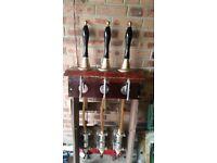 hand beer pumps