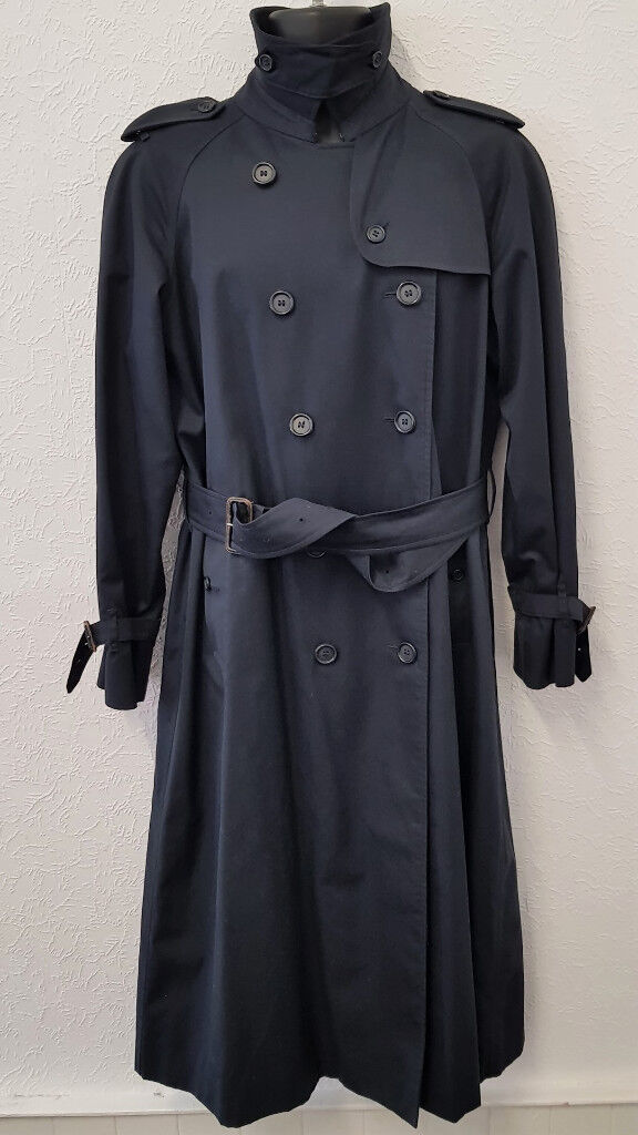 top-rated original special selection of purchase cheap LADIES BURBERRY VINTAGE DOUBLE BREAST TIE WAIST CLASSIC LONG DESIGNER  RAINCOAT -14L | in Kilwinning, North Ayrshire | Gumtree