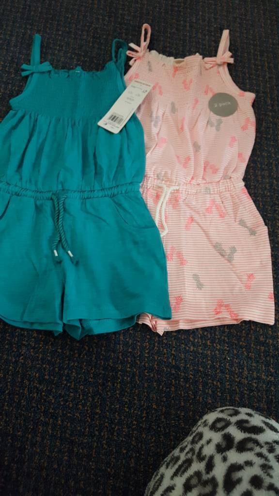 Brand new 2-3 years playsuits