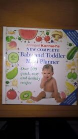 Baby toddler meal planner