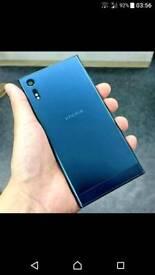 Sony Xperia XZ Unlocked 32gb Forest Blue Like New