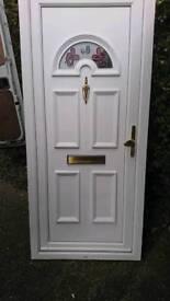 Upvc front door, second hand good working order
