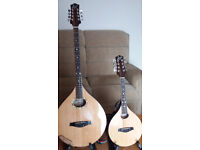 """Matching Pair """"Lewis"""" electro Bouzouki and Mandolin ( will sell seperately if required)SUPERB"""