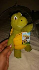 Over the hedge turtle teddy bear figure