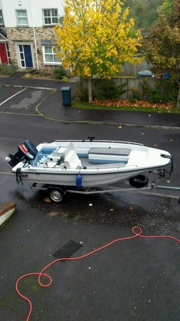Dell quay dory eurosport boat,70hp yamaha plus trailer