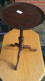 Small dark wood Ocassional Table