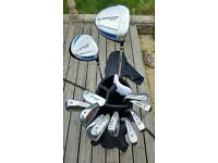 Set of Golf Clubs with Bag, Dunlop Max and Penfold