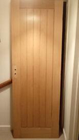 Oak Veneer Internal Cottage Door