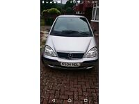 Mercedes A class - MOT Feb 18, new tires, new fuel pump, bargain.