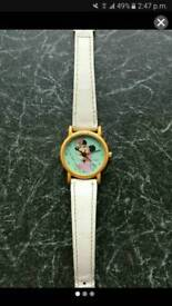 Rare 1970's vintage Minnie mouse watch