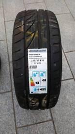 Bridgestone tyre 215 55 r16