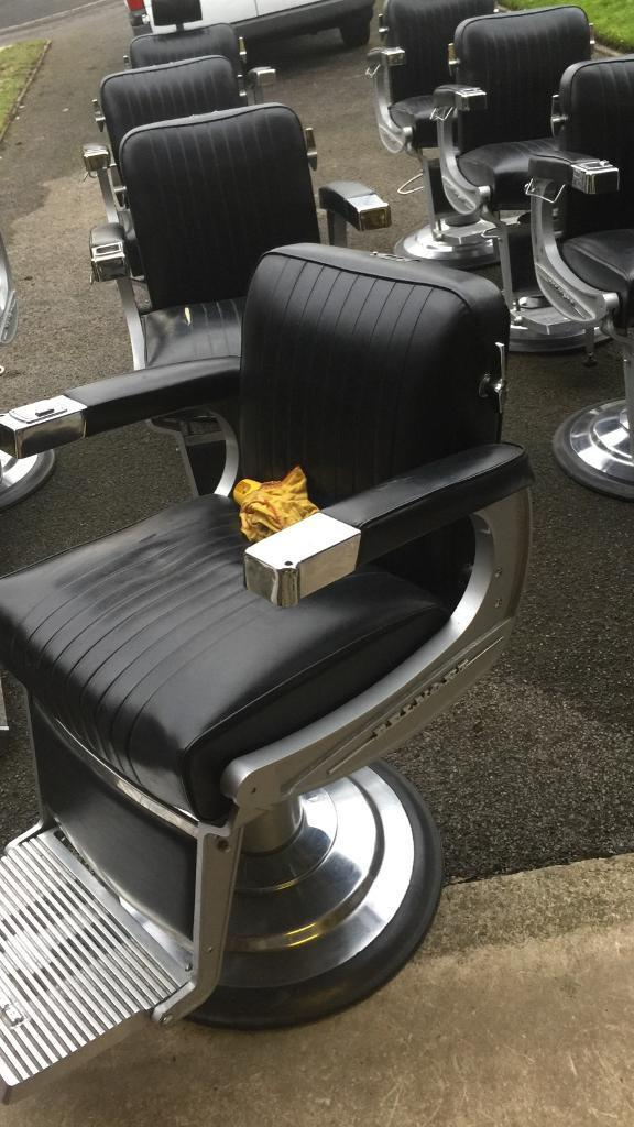 Belmont Apollo 2 barbers chairs available price on listing for 1 chair