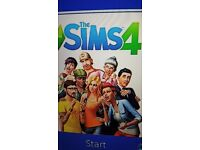 The Sims 4 for the PS4