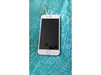 Faulty Gold Iphone 6 for Sale. Home Button Not Working.