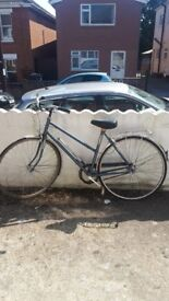 Vintage Blue Dawes Diploma Town Bike