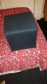 Storage puff box