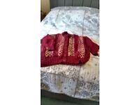 Ladies cardigan/jacket hand knit