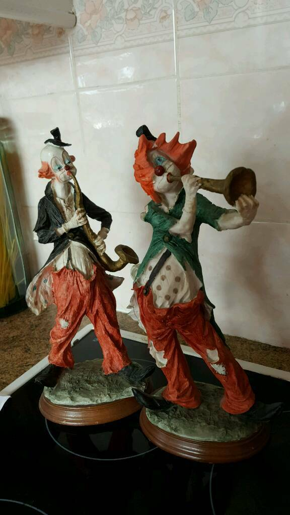 Clown ornaments