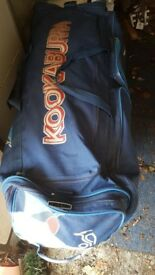 Cricket kit with sport bag