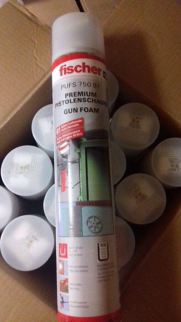 Fischer expanding foam x12 .new!💨