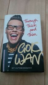 Signed 'Through Thick and Thin' book by Gok Wan