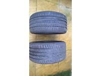 2 TYRES 265 35 ZR 18 93 W/Y COLLECTION ONLY - I CAN MEET IN RADIUS OF 20 MILES FROM READING