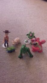 SMALL TOY STORY FIGURES