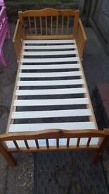 Toddler Wooden Bed