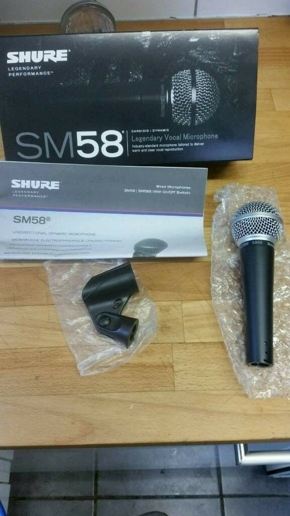 SM58 MICROPHONE LIKE NEW