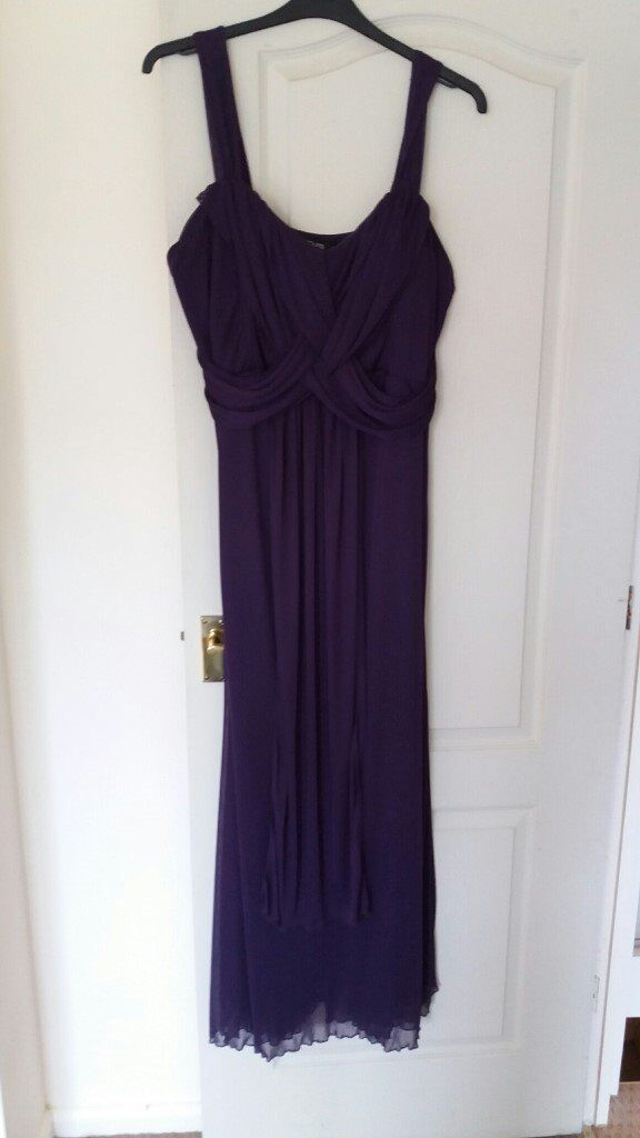 Purple Yours Dress, size 22in Ipswich, SuffolkGumtree - Purple full length Yours dress, size 22. Has chiffon effect on top half and slips on, no zips or buttons. It is a lovely colour, the close up shows it better. Very comfortable to wear and looks better on than it does on a hanger! Was £30.00 new....