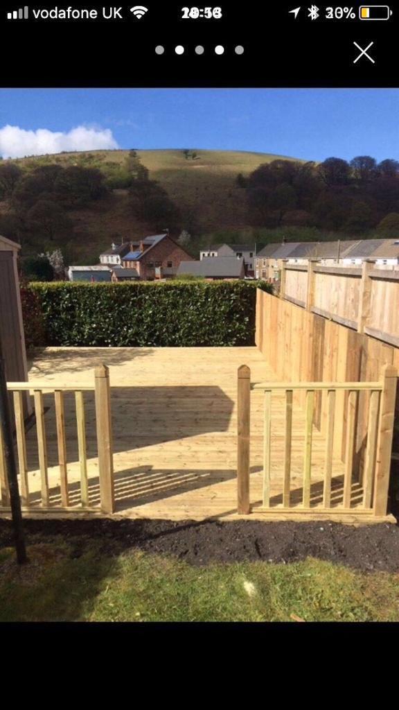 Landscaping services, fences, decking, patios etc