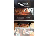 INSANITY 10 DVD box (still in packaging)