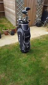 Dunlop Golf Clubs, bag and golf balls