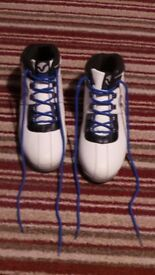 White Voi Boots - Size 8