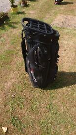 Benross Cart Bag, 14 way divider with Rain Cover