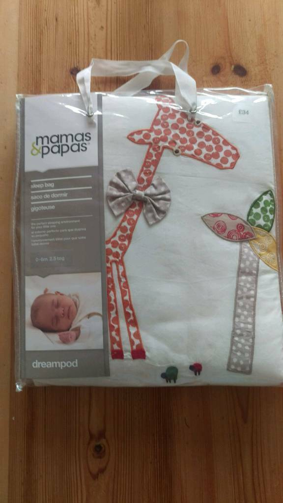 MamasPapas sleeping bag 0 6 monthsin Bournemouth, DorsetGumtree - New and unused baby sleeping bag from Mamas & Papas. 100% cotton and 2.5 tog