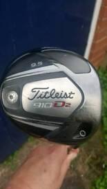 Titleist 910d2 driver..Reduced £35.00
