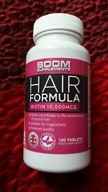 Biotin for hairs