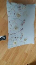 Cushion embroidered brand new