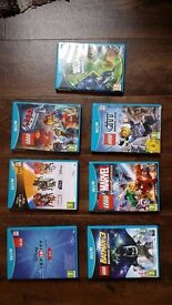 WII U Games -- Various Titles -- prices in description