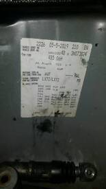 Selling audi a6 6speed gear box automatic... FWL code number can see Still have other parts
