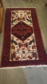 Red Aztec style Rug