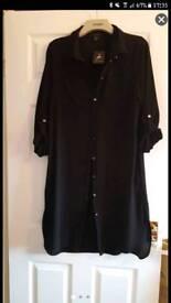 Long Black Shirt/Jacket/Dress