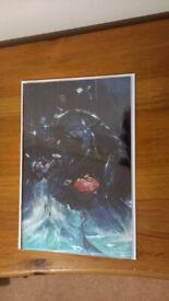 BATMAN #1 RARE COMIC - DELL'OTTO FOIL VARIANT C FAN EXPO MEGACON LIMITED EDITION NM